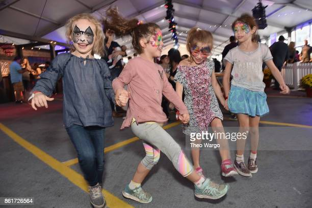 Children attend the Food Network Cooking Channel New York City Wine Food Festival Presented By CocaCola CocaCola Backyard BBQ presented by National...