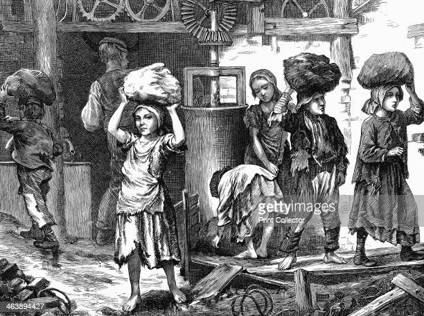 Children carrying loads of clay in the brickyards of the English Midlands 1871 It was estimated that at this time there were between 20000 and 30000...