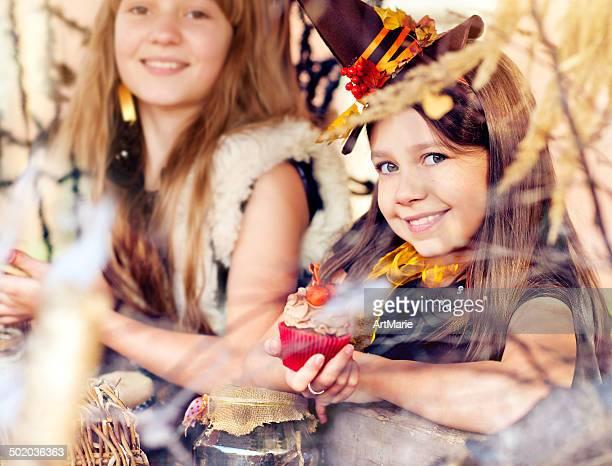 Festeggiare Halloween bambini