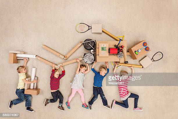Children developing robot