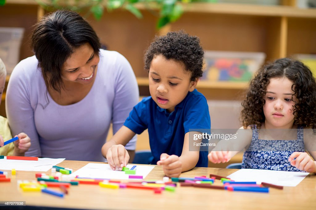 Children doing Arts and Crafts : Stock Photo