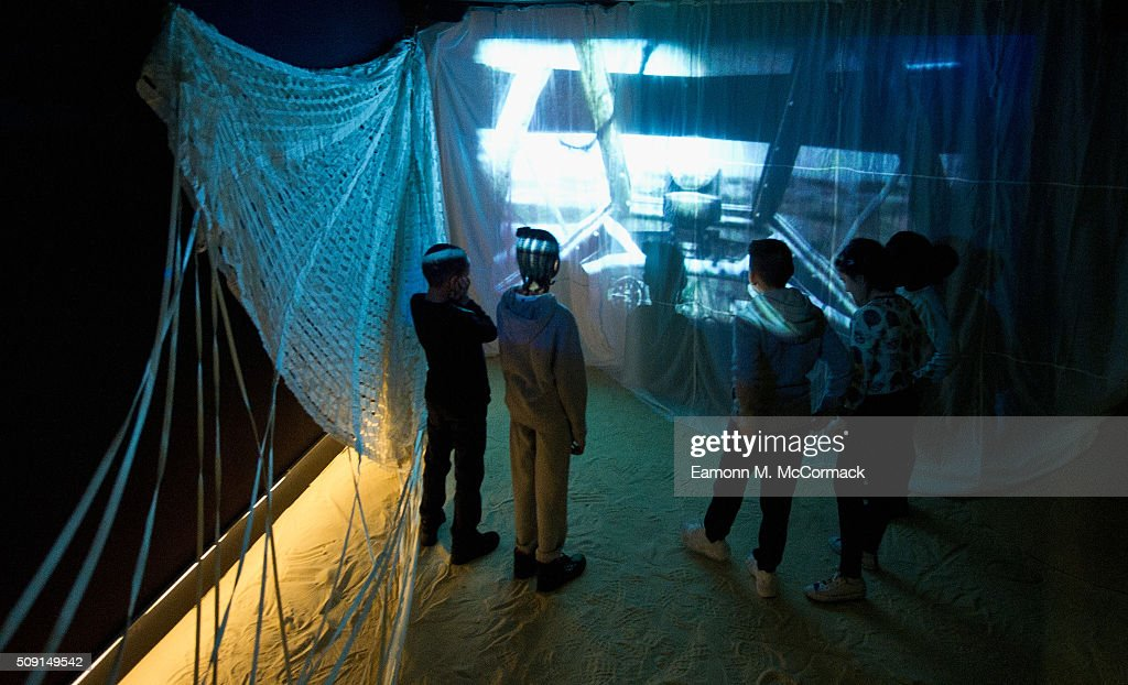 Children explore the 'World of Roald Dahl' as part of Southbank Centre's annual Imagine Children's Festival at Southbank Centre on February 9, 2016 in London, England.