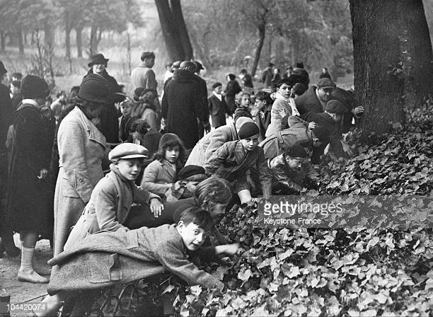 Children Gathered At Park Monceau On April 14 Easter Day To Hunt For Eggs And Treats Hidden By A Paris Newspaper Company
