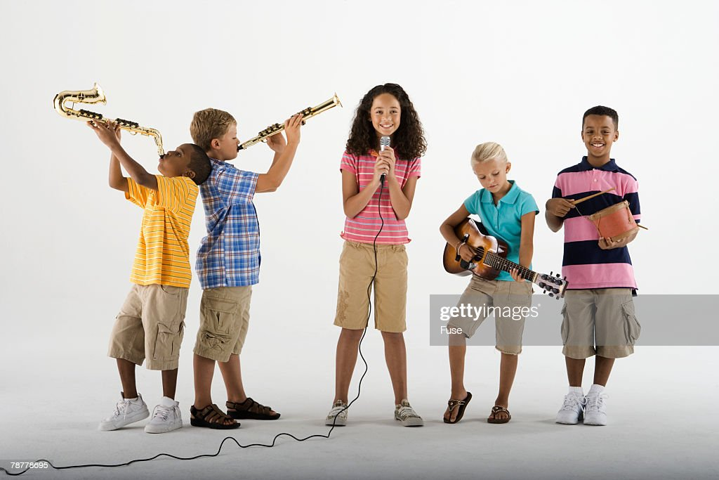 Children in a Band
