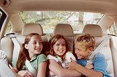 Children in Automobile