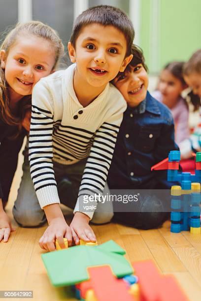 Kinder bereits im kindergarten
