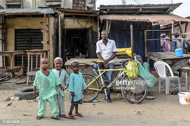 Children in Lagos, Nigeria