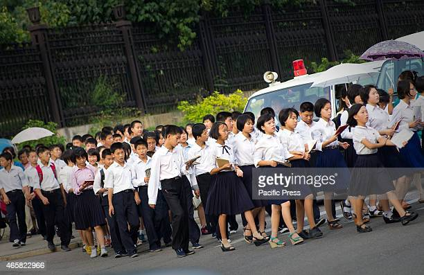 Korean School Uniform Stock Photos and Pictures | Getty Images