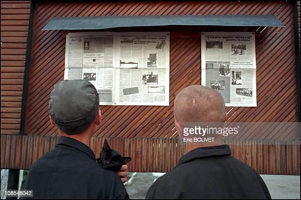 Children jail in Yekaterinburg in Russia in June2001