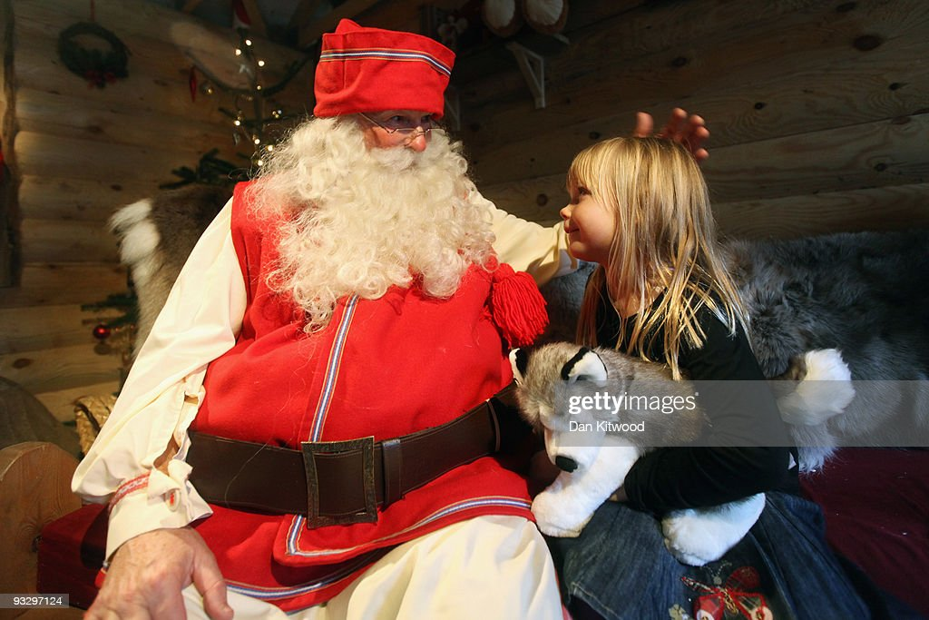 lapland meet father christmas