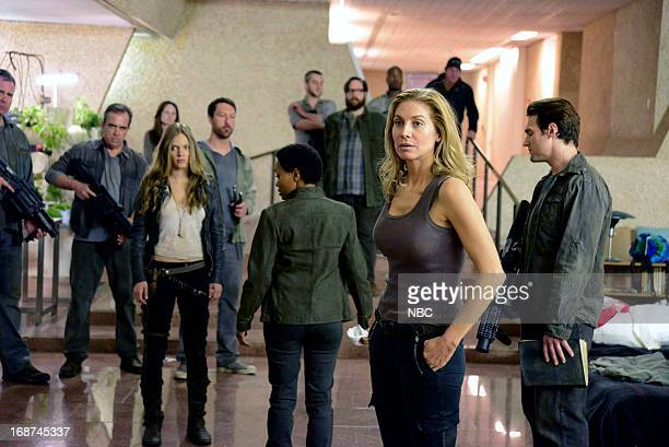 REVOLUTION 'Children of Men' Episode 119 Pictured Tracy Spiridakos as Charlie Matheson Maria Howell as Grace Beaumont Elizabeth Mitchell as Rachel...