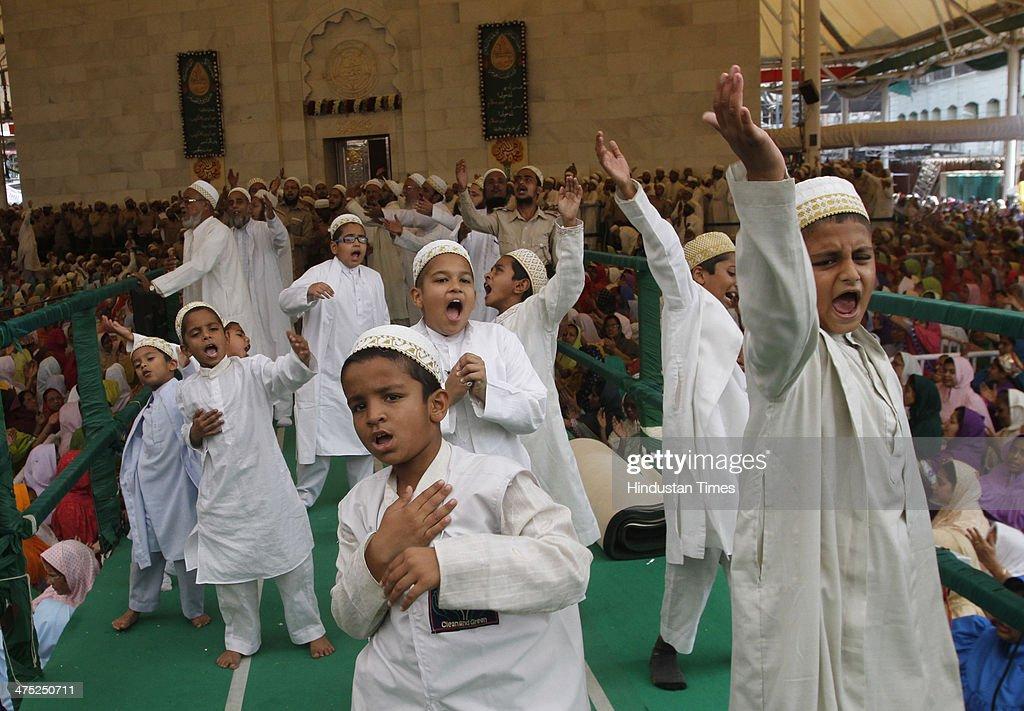 Dawoodi Bohra Community Take Part In A Prayer To Mourn ...