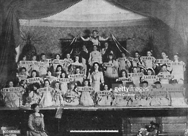Children of the Empire' 1900 A performance at the Polytechnic Institute Thornton Heath on St Patrick's Night March 17th 1900 From Black White Budget...
