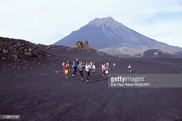 Children of the Volcano In Cape VerdeSince 1917 approximately 1000 people live at 1700 meters in the caldera of an active volcano on Fogo Island one...