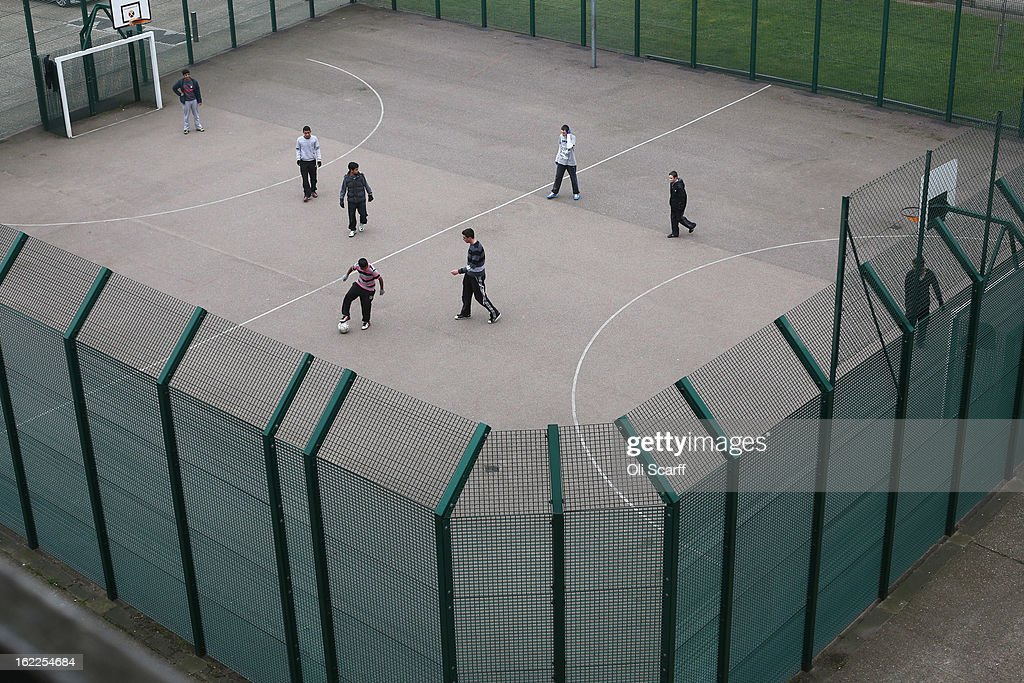 Children play a game of football in front of a residential development in the London borough of Tower Hamlets on February 21, 2013 in London, England. A recent study has shown that 42 per cent of children in Tower Hamlets live in poverty, making it the worst area of the UK for child poverty. The research was carried out by the 'Campaign to End Child Poverty' who have produced a map describing levels of child poverty across the UK.