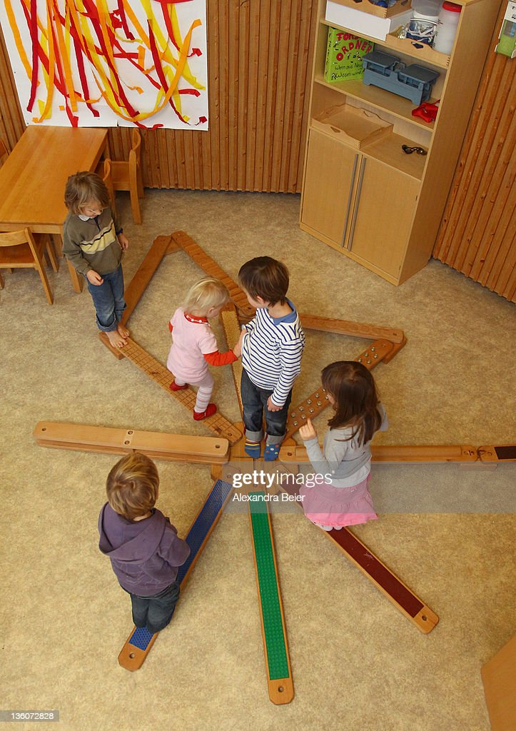 Children play at a day care center for children aged 12 months to six years on December 22, 2011 in Munich, Germany. German authorities claim the country will need to increase the capacity of its child day care centers by at least an additional 230,000 by 2013.