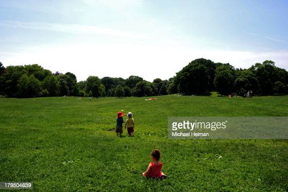 CONTENT] Children Play in Prospect Park on June 9 2013 in Brooklyn NY