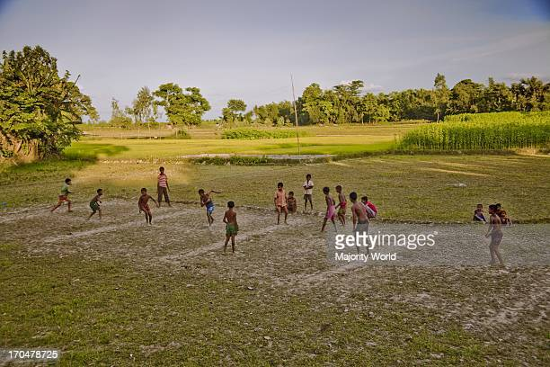 Children playing Daricha a traditional game especially played in the rural areas in Bangladesh Traditional sports like Daricha and Kabadi are rapidly...