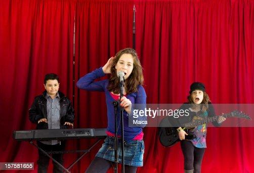 Children rock band