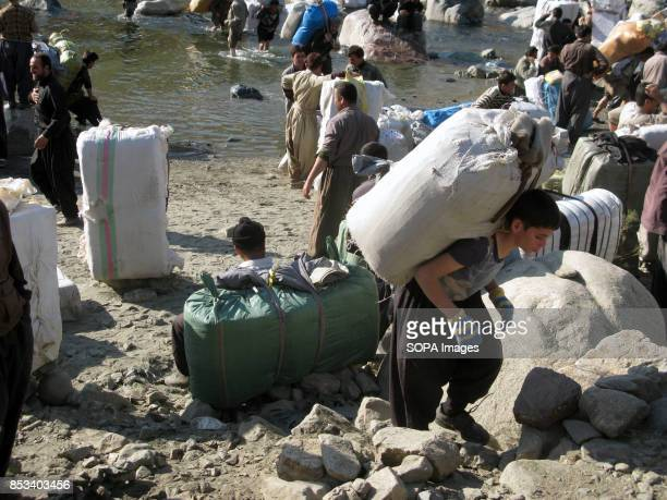 Children seen working in challenging environment as temperature can rise to over 40 degrees For decades the IraqIran border has served as a smuggling...
