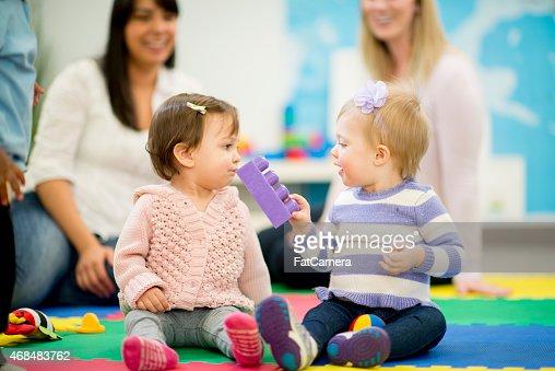 お子様用共有に付属の託児サービス