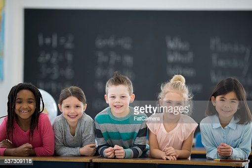 Children Together in Class