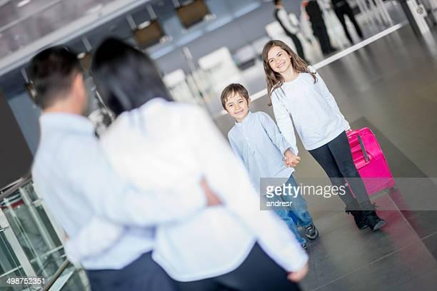 Children traveling