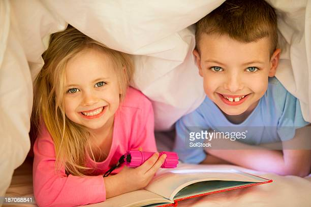 Children Under Bed Covers