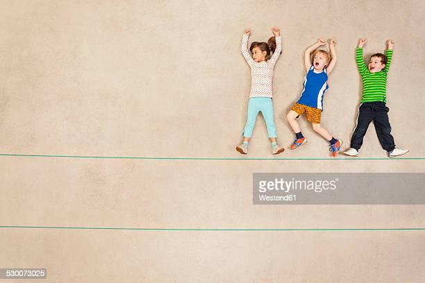 Children watchingt sports event