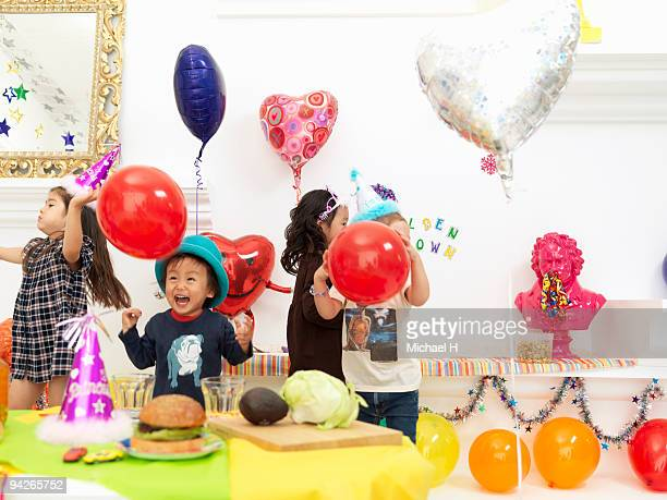 Children who do home party