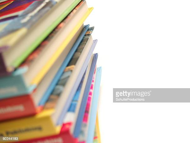 Children's Books Stacked