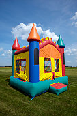 Children's Bounce House Inflatable Jumping Playground