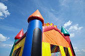 Children's Bouncy Castle Inflatable Playground Top Half