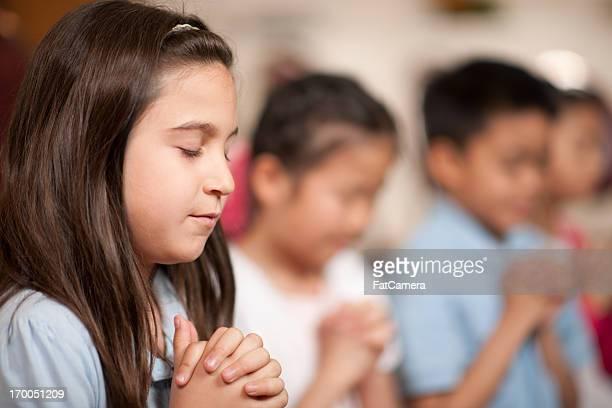 Crianças programa Religiosa