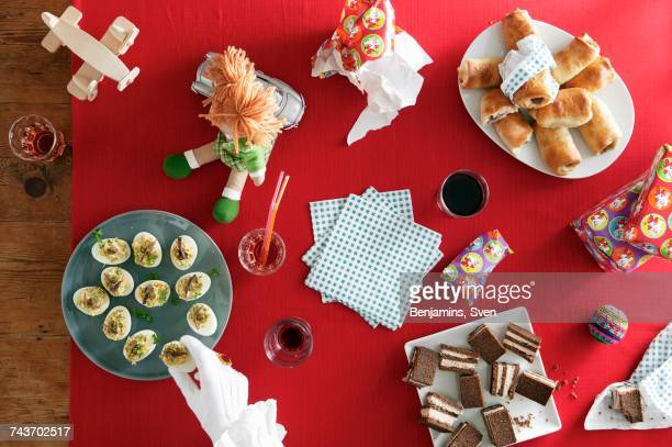 Childrens snacks for the eve of St. Nicholas Day