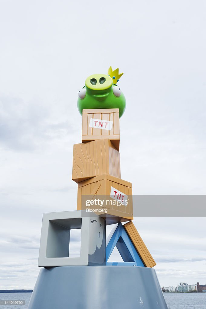 A children's theme ride is seen in Angry Birds Land, an Angry Birds-themed activity center within the Sarkanniemi adventure park near Tampere, Finland, on Friday, May 4, 2012. Rovio Entertainment Oy reported FY sales of EU75.4m. Photographer: Juho Kuva/Bloomberg via Getty Images