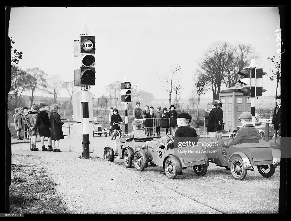 children u0027s traffic playground 1938 pictures getty images