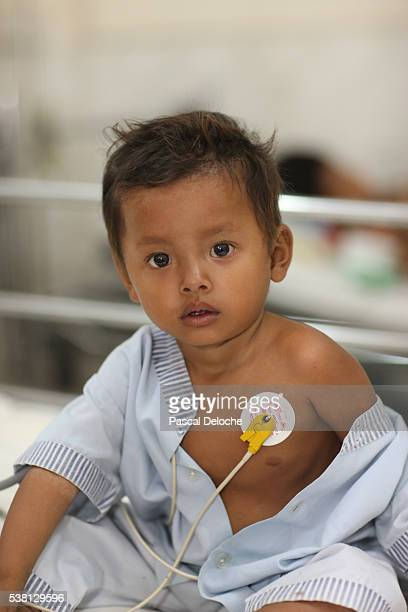 Children's ward in Phnom Penh cardiac hospital