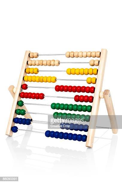 Children's wooden abacus