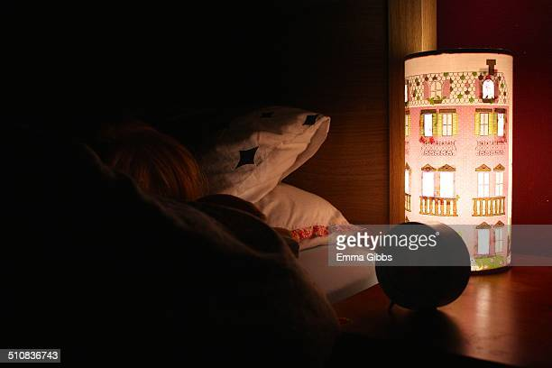 Child's bedroom with nightlight