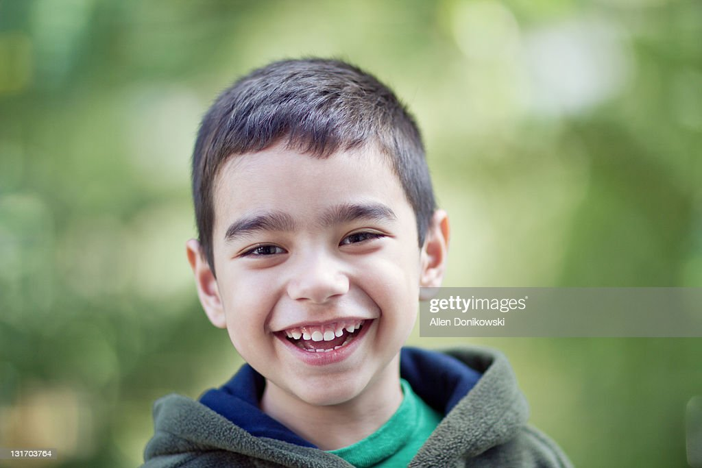Child's laughter : Stock Photo