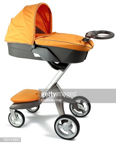 Child's pram with carry cot attachment