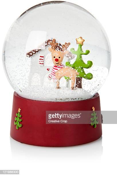 Childs toy Christmas snow globe