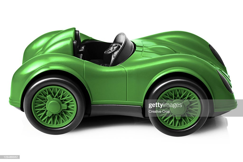 Childs toy racing car : Stock Photo