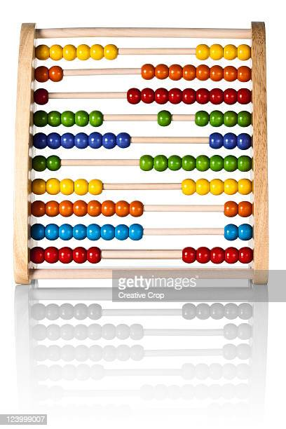 Childs wooden abacus