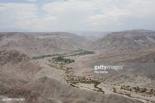Chile, Atacama Desert, elevated view