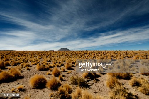 Chile, Atacama, Desert landscape