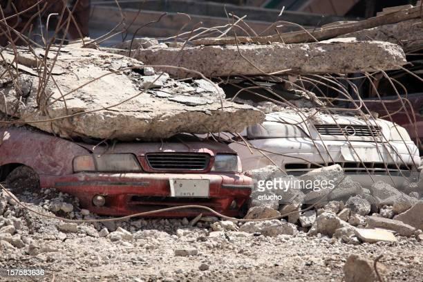 Chile Erdbeben beschädigt
