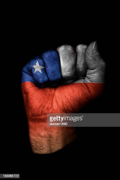 Chile Flag Fist