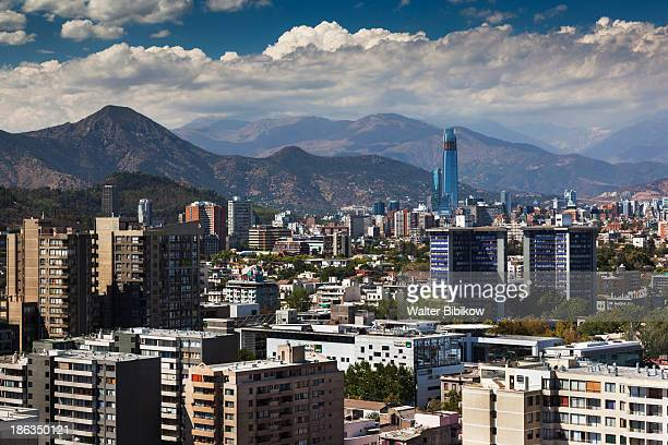 Chile, Santiago, City View